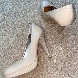 Madden girl shiny high heel shoes - size 9